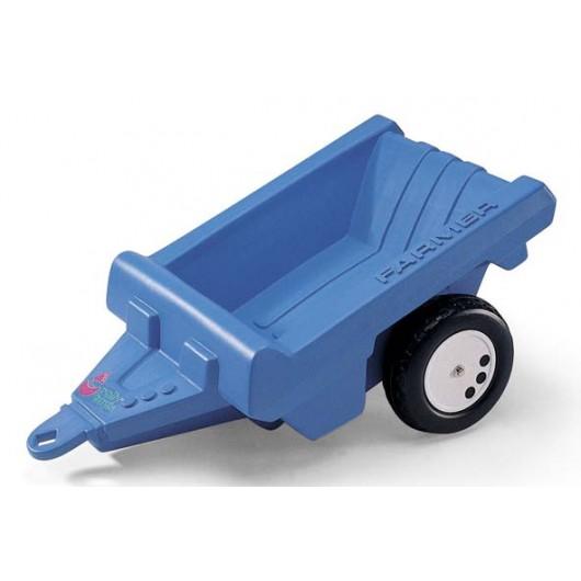 Remolque azul Farmer para tractor de pedal - Juguete - Rolly Toys 122530