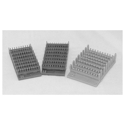 Kit tornillos y tuercas 1,5 mm - Para Maquetar - Miniatura 1:35 - Plus Model 411