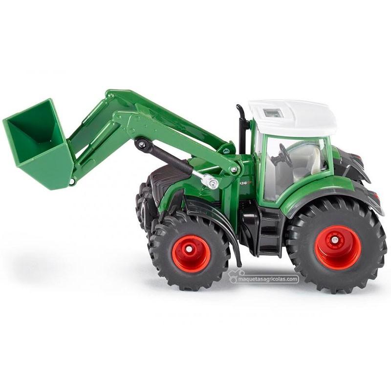 Tractor Fendt con pala - Miniatura 1:50 - Siku 1981