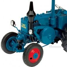 Tractor Lanz Bulldog - Miniatura 1:32 - Schuco 450769500 detalle motor