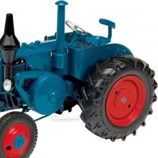 Tractor Lanz Bulldog - Miniatura 1:32 - Schuco 450769500 detalle cabina