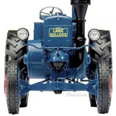 Tractor Lanz Bulldog - Miniatura 1:32 - Schuco 450769500 detalle frontal