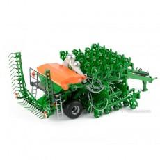 Sembradora de cereal Amazone Primera DMC 9000-2C - Miniatura 1:32 - ROS 601581 plegada