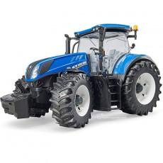 Tractor New Holland T7.315 - Miniatura 1:16 - Bruder 03120