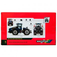 Tractor New Holland T9.530 - Réplica 1:32 - Britains 43193 embalaje