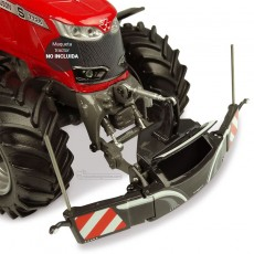 Pesa delantera de seguridad 800 Kg gris - Miniatura 1:32 - UH 5348 montada en tractor
