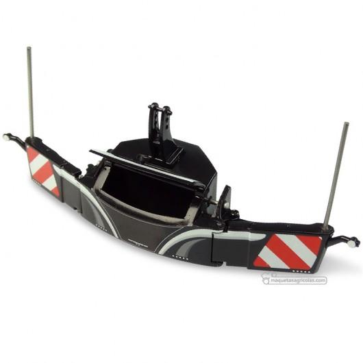 Pesa delantera de seguridad 800 Kg negra - Miniatura 1:32 - UH5372