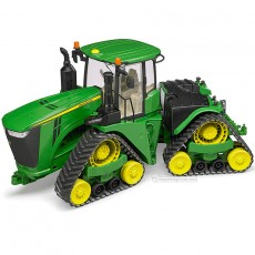 Tractor John Deere 9620RX oruga - Miniatura 1:16 - Bruder 04055 dirección articulada