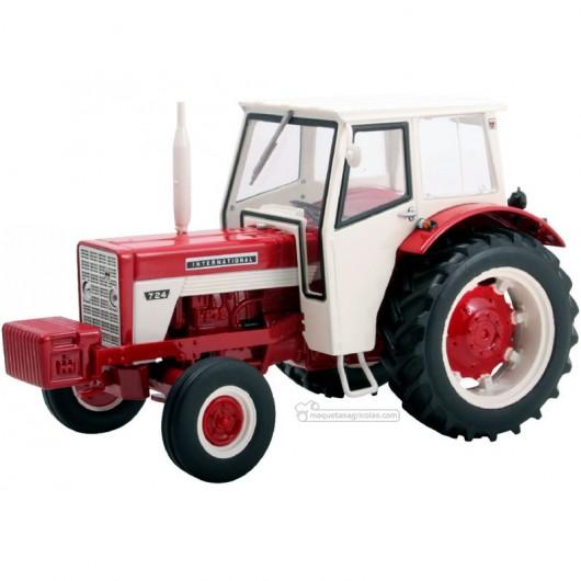 Tractor IH 724 -  Miniatura 1:32- Replicagri REP032