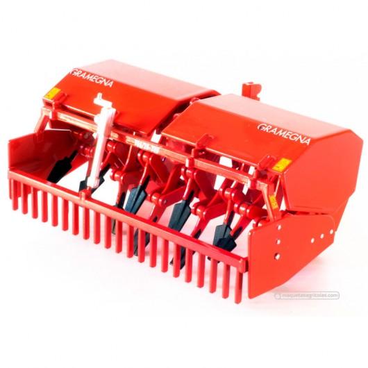 Rotovator Gramegna V86 / 36-300 - Miniatura 1:32 - AT 1001