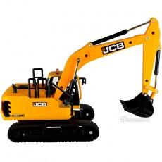Excavadora JCB C220 X LC - Miniatura 1:32 - Britains 43211 vista lateral