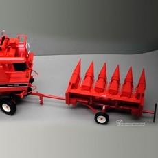 Peine de maíz para cosechadora IH 853F y carro IH Axial - Miniatura 1:32 -  Replicagri REP131