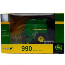 Empacadora JOHN DEERE 990 - Miniatura 1:32 - Britains 42784 embalaje