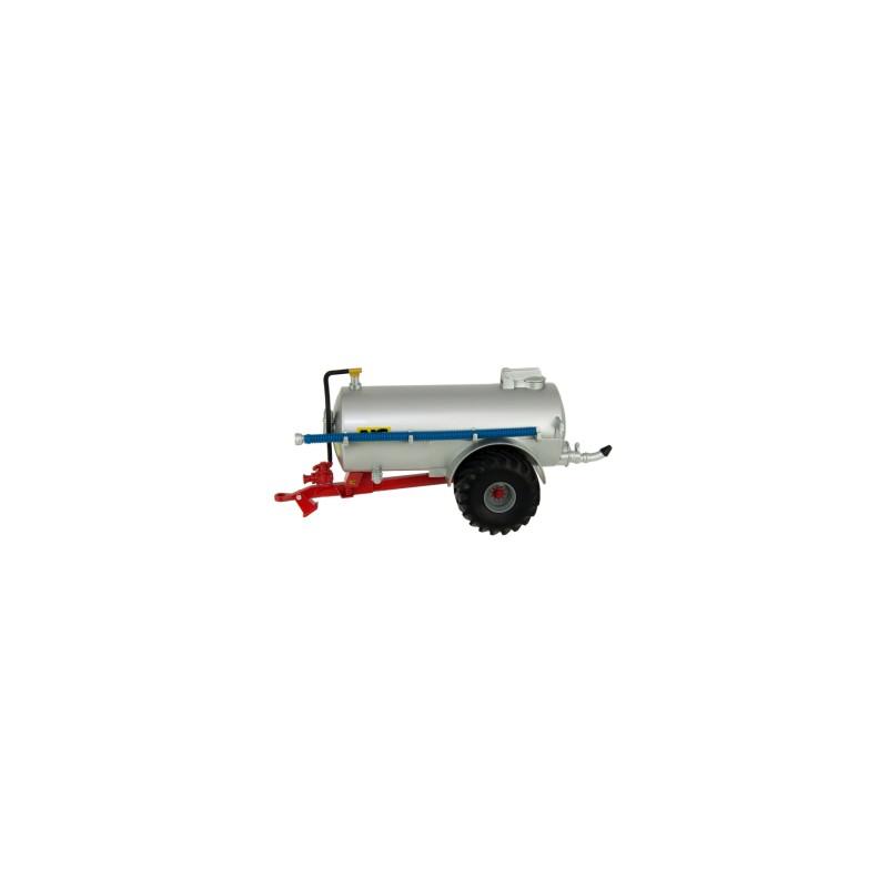 Cuba de purín NC Vacuum Tanker Field Version silver - Miniatura 1:32 - Britains 43238
