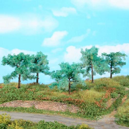 5 Olivos de 8 a 11 cm - Miniatura Heki 1773