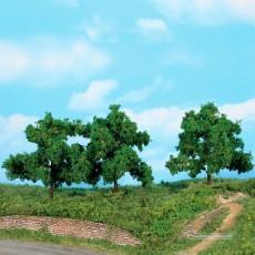 3 Árboles frutales 13 cm - Miniatura Heki 1934