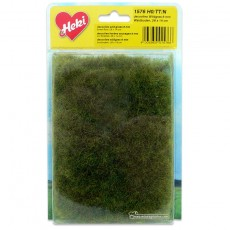 Manta que simula prado de bosque con hierba silvestre 28x14 cm - Miniatura Heki 1576 blister