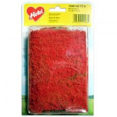 Manta que simula flores rojas 28x14 cm - Miniatura Heki 1588 blister