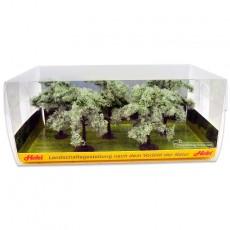 5 Olivos de 8 a 11 cm - Miniatura Heki 1773 embalaje