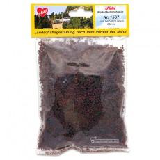 Escamas de follaje de otoño marrones (copos foliares) 200 ml - Miniatura Heki 1567 bolsa