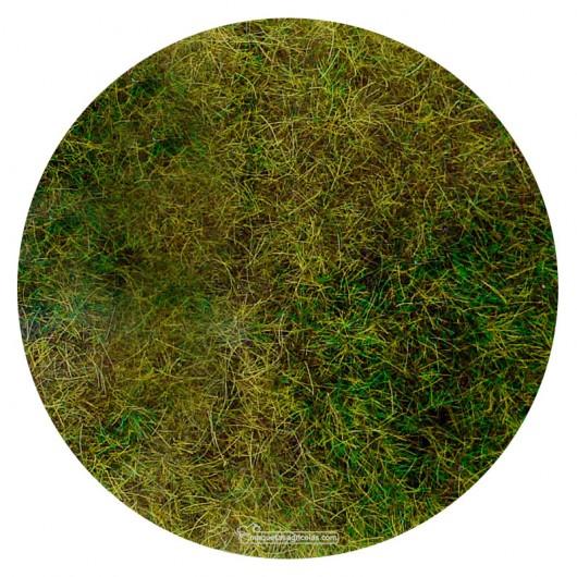 Manta que simula prado de bosque con hierba silvestre 28x14 cm - Miniatura Heki 1576