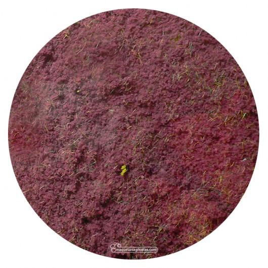Manta que simula flores de brezo 28x14 cm - Miniatura Heki 1586