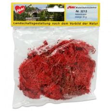 Musgo de Islandia rojo 30 gr - Miniatura Heki 3213 envase