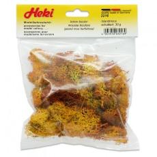 Musgo de Islandia tostado rojizo 30 gr - Miniatura Heki 3216 envase