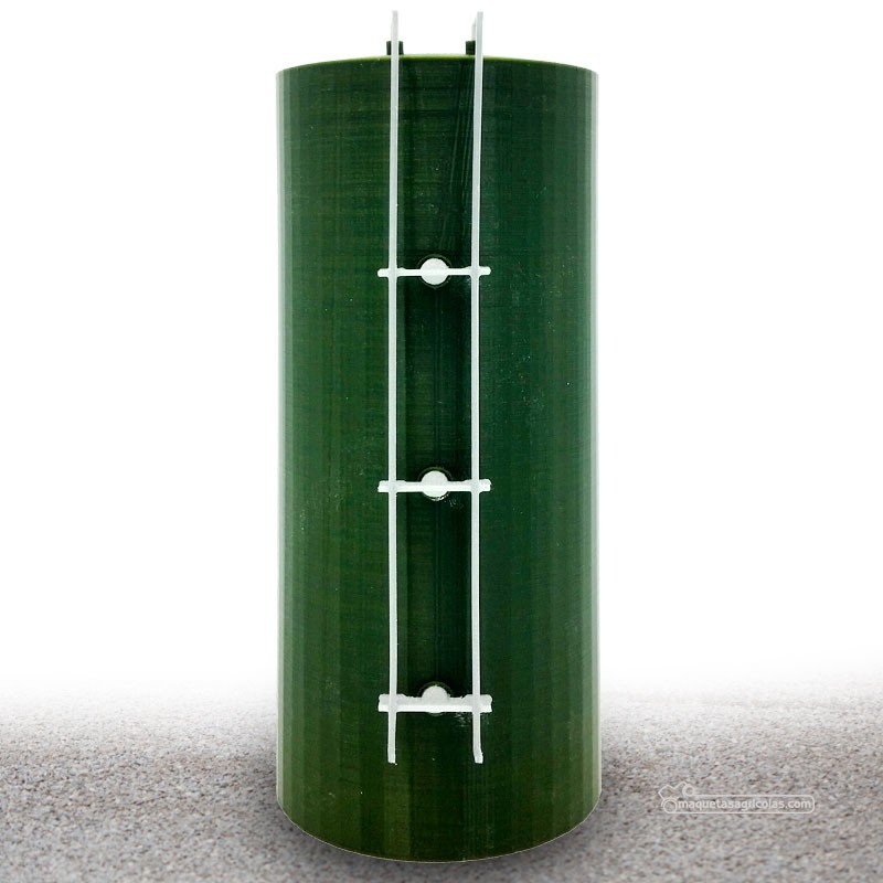 Tanque vertical de nitrógeno de 6m verde  - miniatura 1:32 - Minimaker CAV6GK