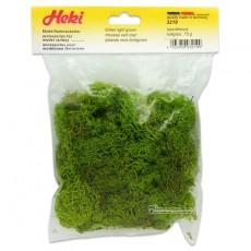 Musgo de Islandia verde claro 75 gr - Miniatura Heki 3219 envase.