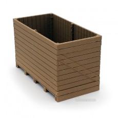 Contenedor Palox de madera - miniatura 1:32 - Minimaker IWOPALO2412