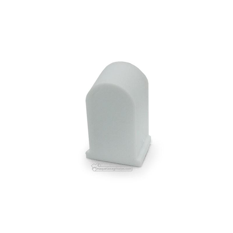 Piedra kilométrica blanca - miniatura 1:32 - Minimaker WHBK
