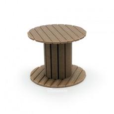 Carrete de cable de madera - miniatura 1:32 - Minimaker WOTO15