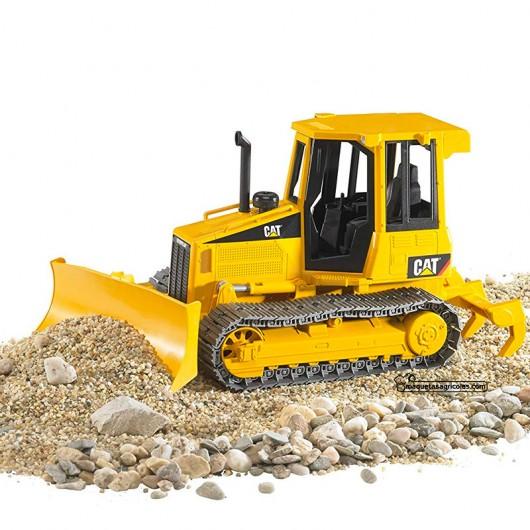Bulldozer con orugas CAT - Miniatura 1:16 - Bruder 02443