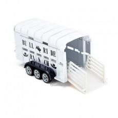 RAM 1500 con remolque ganadero - Miniatura 1:50 - Siku 1998 detalle remolque ganadero