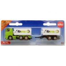 Camión cisterna con remolque - Miniatura - Siku 1690 blister