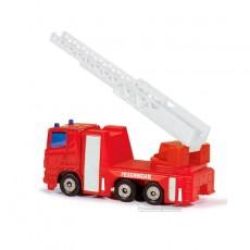 Camión de bomberos - Miniatura en blister - Siku 1015 escalera levantada