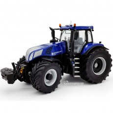 Tractor New Holland T8.435 Blue Power con ruedas Vredestein - Miniatura 1:32 - 72MM002