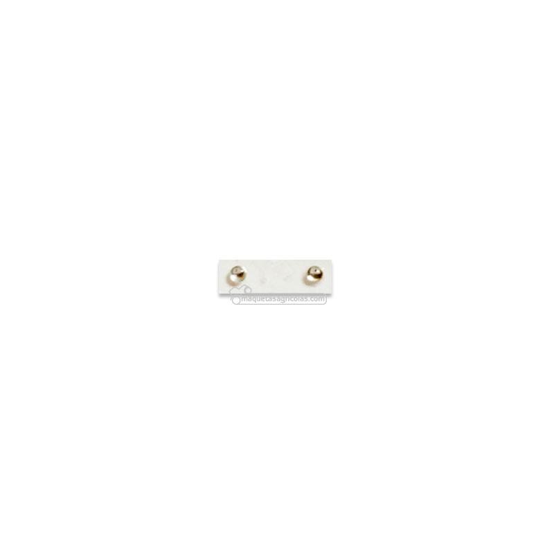 Par de pastillas translúcidas de faro redondo de 1 mm - Miniaturas 1:32 - Artisan 04350B