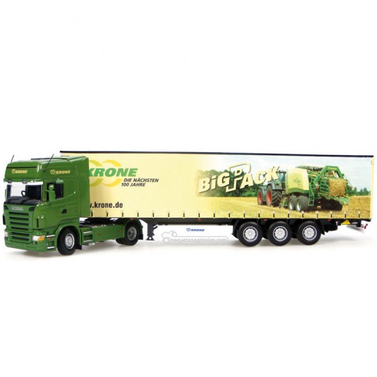 Camión Scania + Krone Big Pack - Réplica 1:50 - UH5602