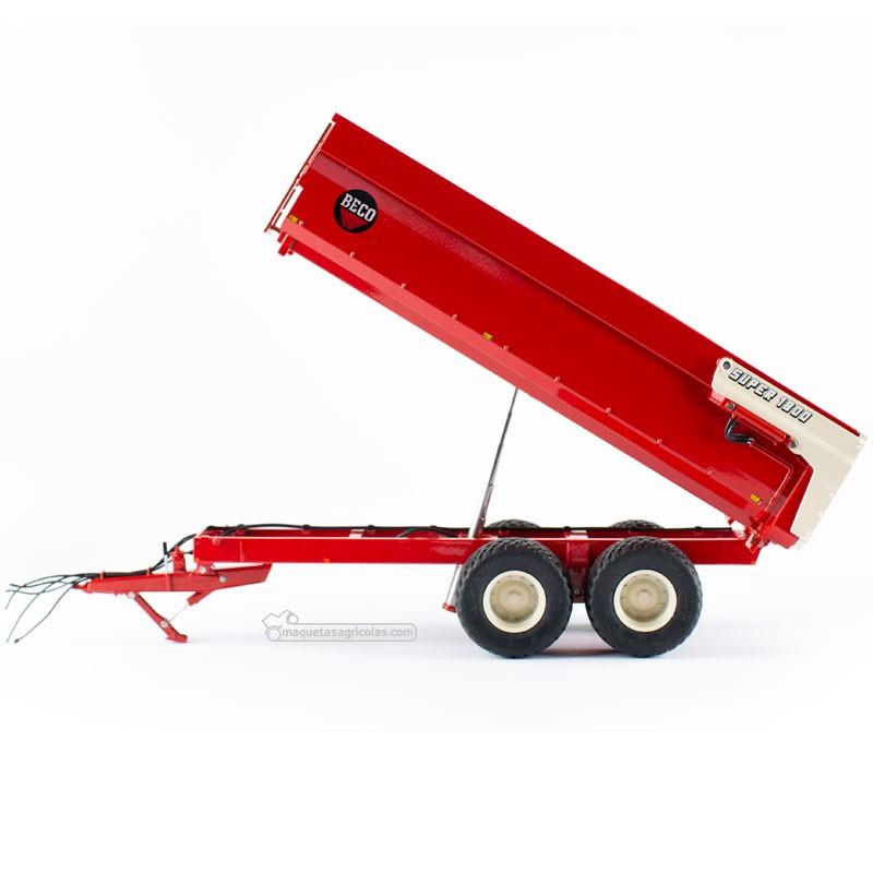 Beco Super 1800 remolque volquete agrícola - Miniatura 1:32 - AT3200501