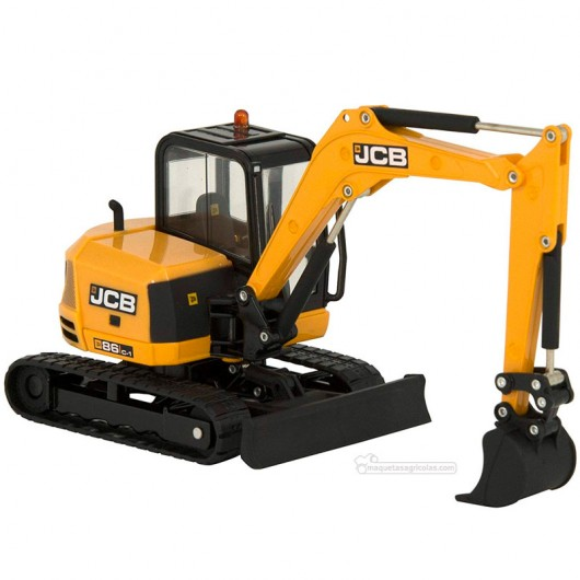 Excavadora JCB Midi - Miniatura 1:32 - Britains 43013