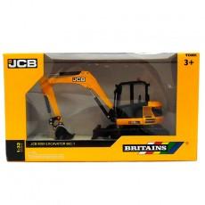 Excavadora JCB Midi - Miniatura 1:32 - Britains 43013 embalaje