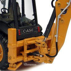 Retroexcavadora Case CE 580 ST - Réplica 1:50 - UH8079 detalle posterior