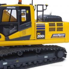 Excavadora Komatsu PC200i-10 intelligent machine control - Réplica 1:50 - UH8107 detalle cabina
