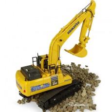 Excavadora Komatsu HB205 LC3 Hybrid - Réplica 1:50 - UH8136 perfil derecho