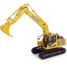 Excavadora Komatsu HB205 LC3 Hybrid - Réplica 1:50 - UH8136 perfil izquierdo