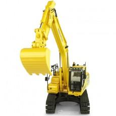Excavadora Komatsu HB205 LC3 Hybrid - Réplica 1:50 - UH8136 vista frontal