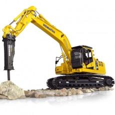 Excavadora Komatsu PC210LC-11 with hammer drill - Réplica 1:50 - UH8140