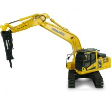 Excavadora Komatsu PC210LC-11 with hammer drill - Réplica 1:50 - UH8140 brazo levantado